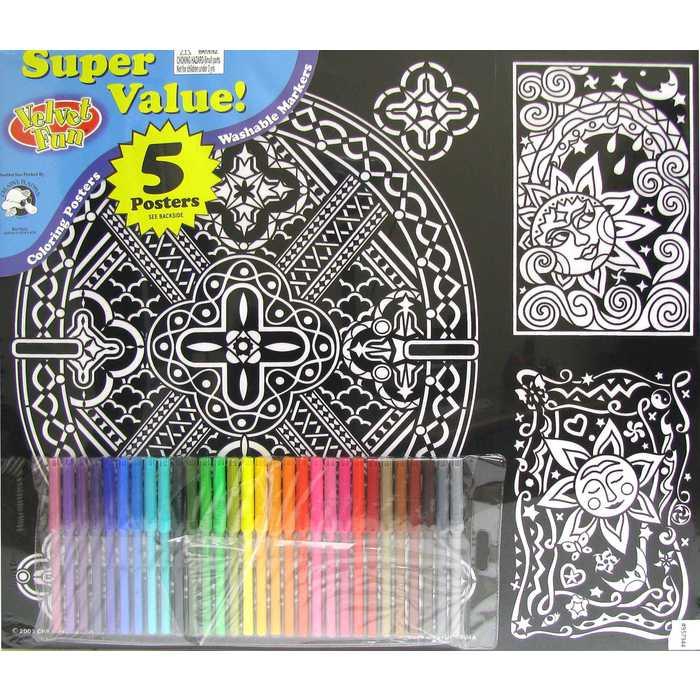Geometric Velvet Fun Value Pack Hobby Lobby 957944